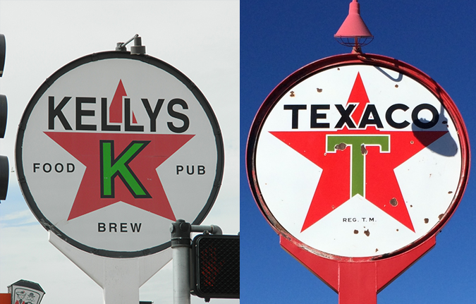 Kelly's channels the spirit of Texaco
